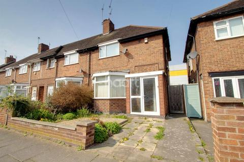 3 bedroom end of terrace house for sale - Swithland Avenue, Leicester