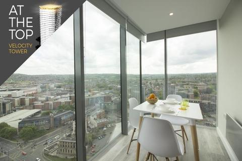 1 bedroom apartment to rent - Velocity Tower, St. Mary's Gate, Sheffield, S1 4LS