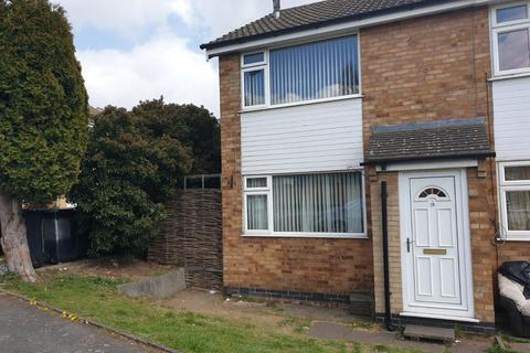 2 bedroom end of terrace house to rent - Jeremy Close, Leicester