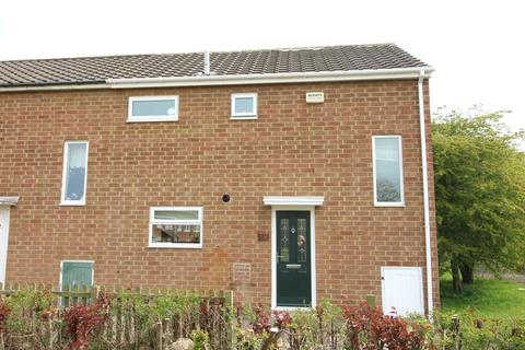 2 bedroom end of terrace house for sale - Killingworth