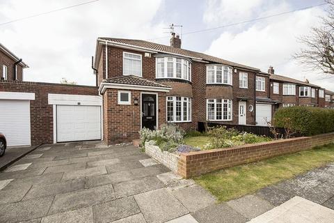 3 bedroom semi-detached house for sale - Melrose Close, Brunton Park, Gosforth