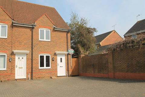 2 bedroom end of terrace house for sale - Standfield Close, Aylesbury