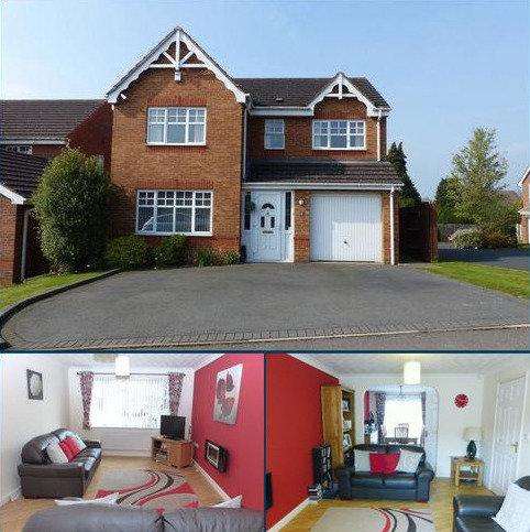 4 bedroom detached house for sale - Blue Cedar Drive, Streetly