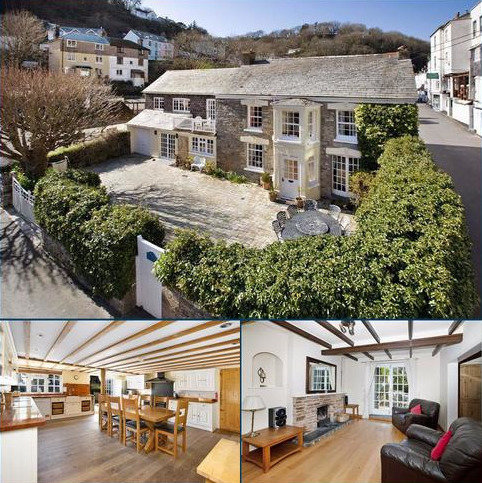 4 bedroom detached house for sale - The Coombes, Looe, Cornwall, PL13
