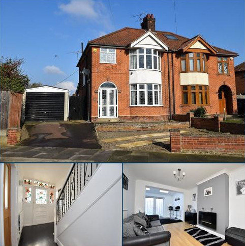3 bedroom semi-detached house for sale - Medway Road, Ipswich, IP3 0QJ