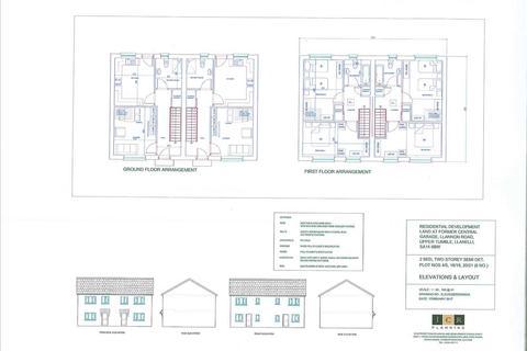 2 bedroom semi-detached house for sale - Residential Development Land At Former Central Garage, Llannon Road, UPPER TUMBLE, Llanelli