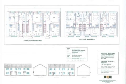 2 bedroom end of terrace house for sale - Residential Development Land At Former Central Garage, Llannon Road, UPPER TUMBLE, Llanelli