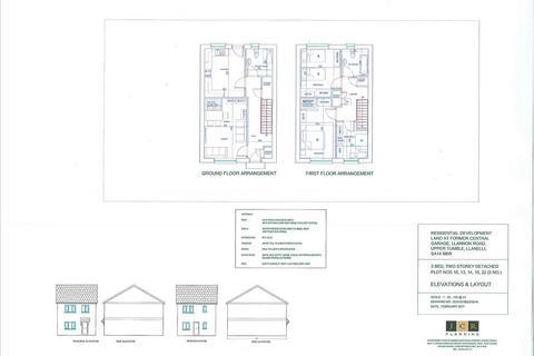 3 bedroom detached house for sale - Residential Development Land At Former Central Garage, Llannon Road, UPPER TUMBLE, Llanelli