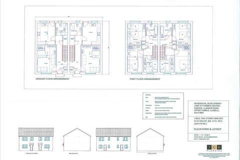 3 bedroom semi-detached house for sale - Residential Development Land At Former Central Garage, Llannon Road, UPPER TUMBLE, Llanelli