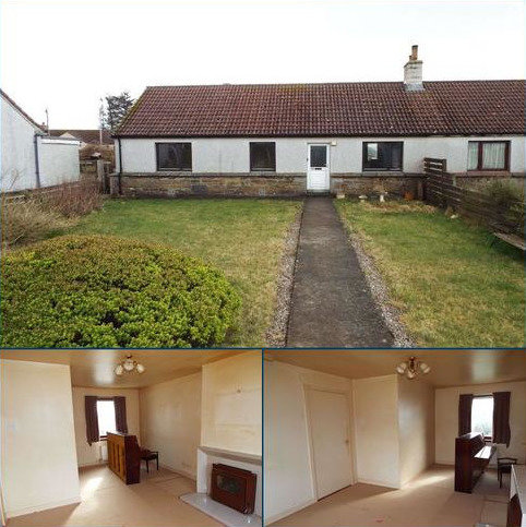 2 bedroom semi-detached bungalow for sale - 10 Threipland Place, Spittal