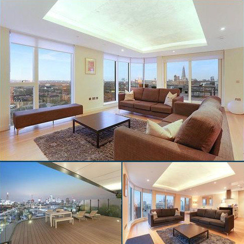 3 bedroom flat for sale - Park Vista Tower, 5 Cobblestone Square, Wapping, London, E1W