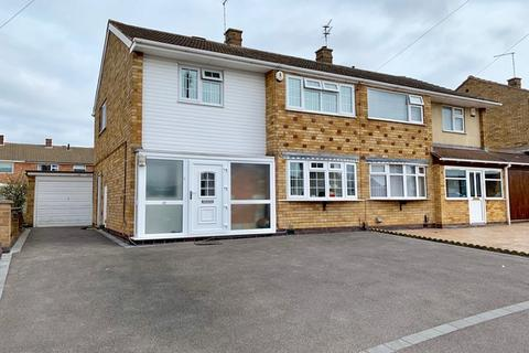 3 bedroom semi-detached house for sale - Homestead Drive, Little Hill,Wigston, Leicester, LE18