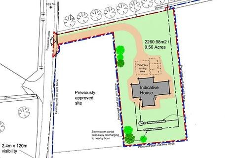 Land for sale - Site 2 & 1.28 Acres, New Aberdour, New Aberdour, Aberdeenshire, AB43