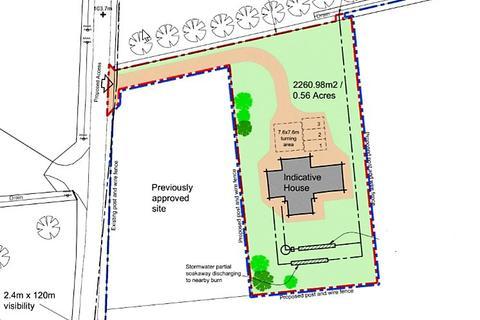 Land for sale - Site 2 & 1.28 Acres, New Aberdour, New Aberdour, Aberdeenshire, AB43