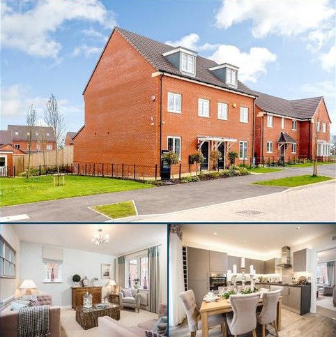 3 bedroom townhouse for sale - Seabrook Orchards, Topsham Road, Topsham, Exeter, Devon
