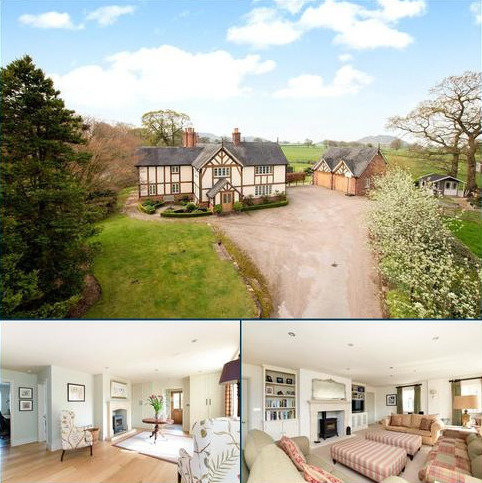 5 bedroom detached house for sale - Bettys Lane, Beeston, Tarporley, Cheshire, CW6