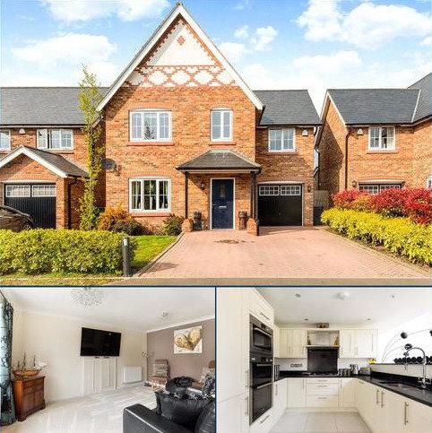 4 bedroom detached house for sale - Oaklands Court, Lavister, Rossett, Wrexham, LL12