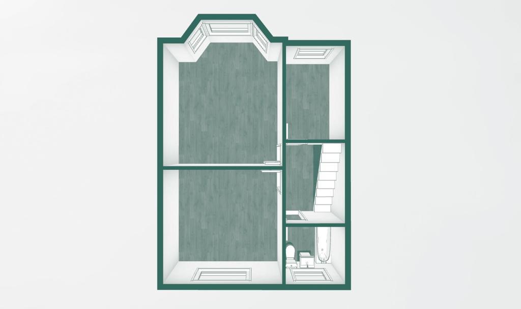 Floorplan 3 of 3: First Floor 3 D