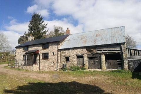 4 bedroom property with land for sale - Llowes, Nr Hay-on-Wye, Herefordshire