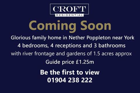 4 bedroom detached house for sale - Farmhouse, Church Lane, Nether Poppleton, York, YO26 6LF