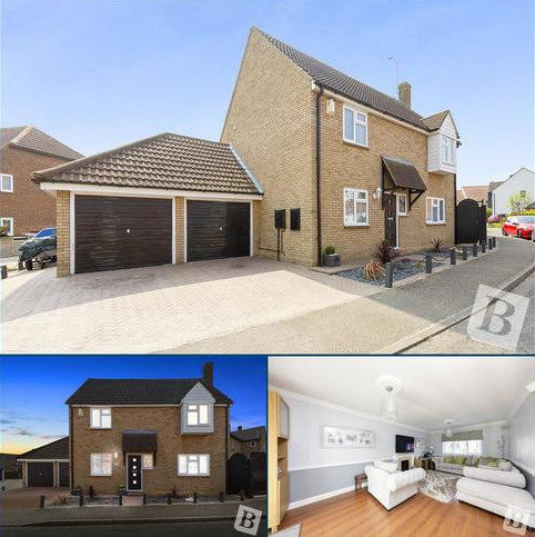 4 bedroom detached house for sale - Merton Place, South Woodham Ferrers, Essex, CM3