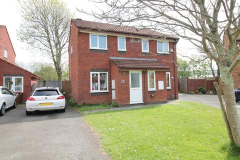 2 bedroom semi-detached house for sale - Peacock Close, Plympton