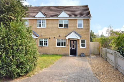 2 bedroom end of terrace house to rent - Speedwell Way, Norwich