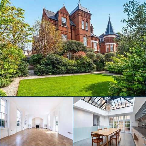 6 bedroom detached house to rent - Fulham Park Road, London, SW6