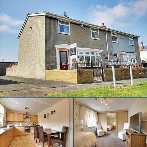 3 bedroom semi-detached house for sale - Scarborough Parade, Hebburn, Tyne And Wear