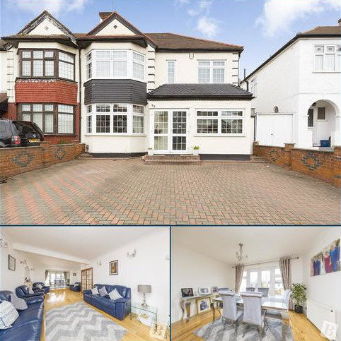 4 bedroom semi-detached house for sale - Clayhall Avenue, Ilford, IG5