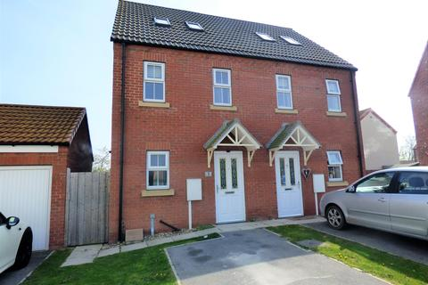 3 bedroom semi-detached house for sale - Kristen Turton Close, Holton-le-Clay, DN36 5FG