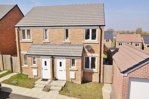 2 bedroom semi-detached house for sale - Yates Close, Weldon