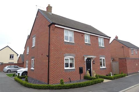 3 bedroom detached house for sale - Howden Close, Bagworth, Leicestershire