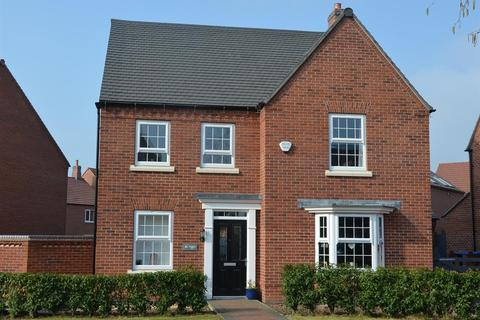 4 bedroom detached house for sale - Dunbar Way, Ashby De La Zouch, Leicestershire