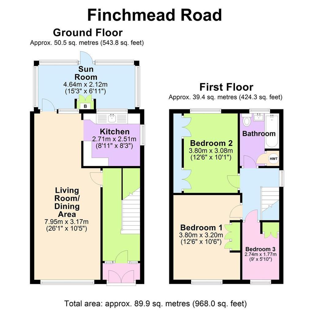 Floorplan: 30 Finchmead Rd   Floorplan.JPG