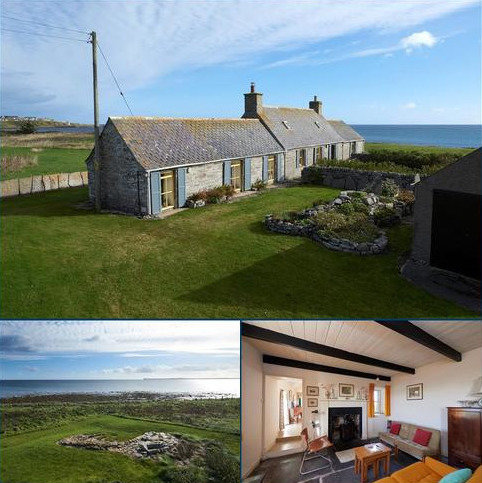 3 bedroom detached house for sale - Stain Croft, South Keiss, By Wick, Caithness, KW1