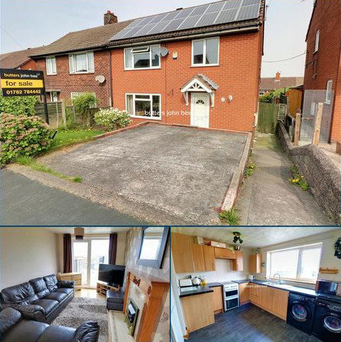 3 bedroom semi-detached house for sale - Sussex Drive, Stoke-On-Trent
