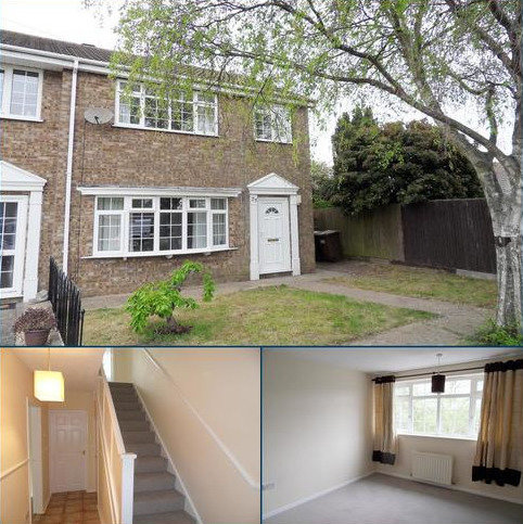 3 bedroom end of terrace house for sale - Sedgemoor Close, North Hykeham, Lincoln LN6
