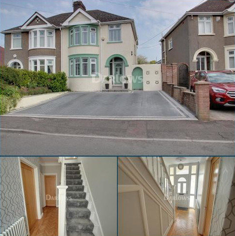 3 bedroom semi-detached house for sale - Ty`r Y Sarn Road, Rumney, Cardiff