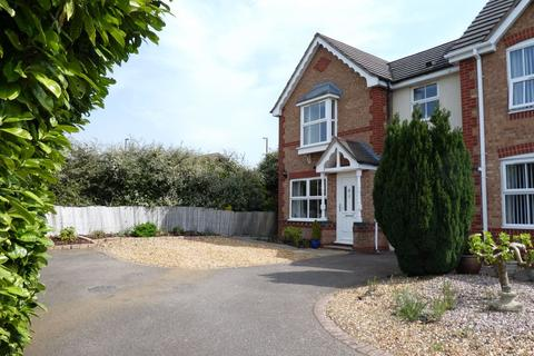 3 bedroom semi-detached house for sale - Butts Croft Close, East Hunsbury, Northampton