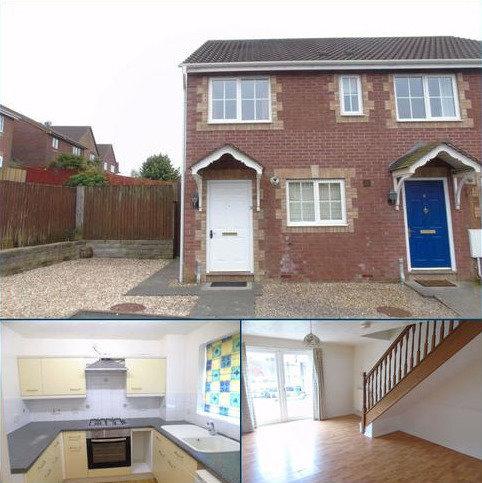 2 bedroom end of terrace house for sale - Clos Ysgallen, Trallwn, Llansamlet