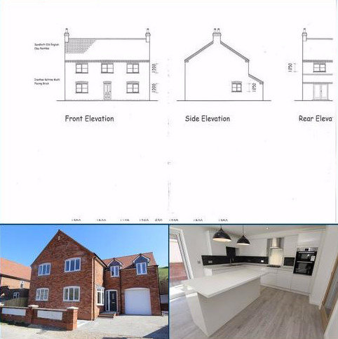4 bedroom detached house for sale - Back Street, Langtoft, Near Driffield, YO25