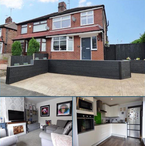 3 bedroom semi-detached house for sale - Stirling Road, South Chadderton, Oldham, Greater Manchester, OL9