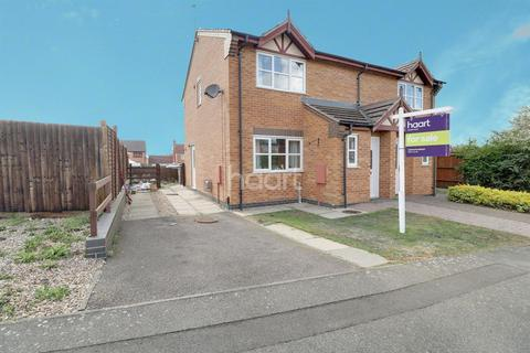 3 bedroom semi-detached house for sale - St Georges Way, Grantham