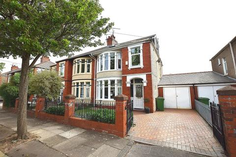 4 bedroom semi-detached house for sale - St. Augustine Road, Heath, Cardiff. CF14 4BE