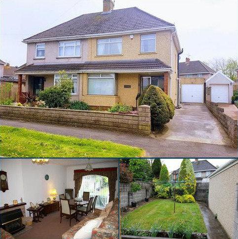 3 bedroom semi-detached house for sale - FAIRWAYS, NORTH CORNELLY, BRIDGEND CF33