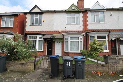 2 bedroom terraced house to rent - Swindon Road, Edgbaston, Birmingham, B17 8JJ