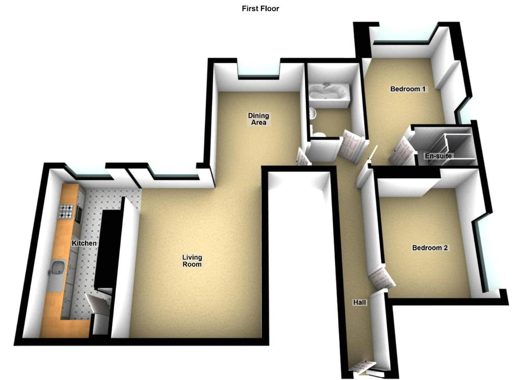 Floorplan: Floor Plan   First F