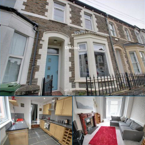 2 bedroom terraced house for sale - Alexandra Road, Cardiff