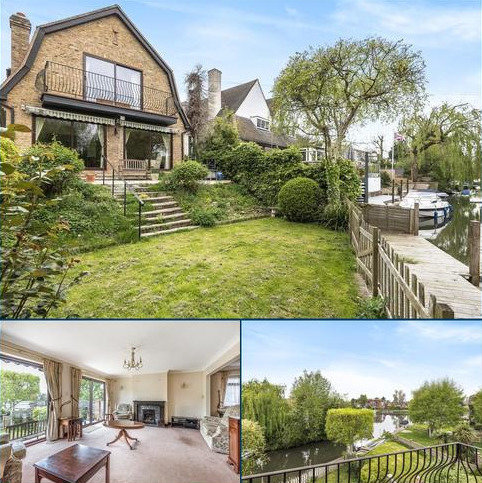 4 bedroom detached house for sale - Riverside, Wraysbury, TW19